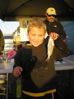 Keagan and king fish