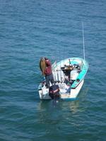 Josh and halibut