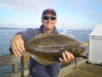 Matt and flounder