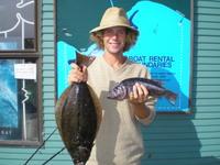 Matt and halibut and black cod