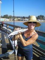 Capitola wharf fishing is pretty fun capitola and santa for Santa cruz fishing report