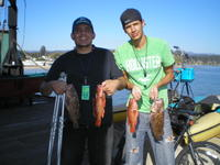 Jose and amigos and nice catch