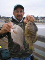 Steve and nice perch