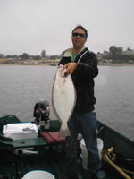Mike and halibut