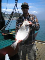 Jeff and halibut
