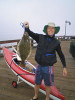 Jim and halibut