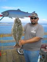 Ramondo and halibut