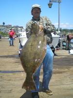 Darn Glenn and 34 pound halibut
