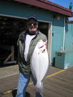 Bill and another halibut