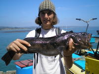 Shawn and Lingcod