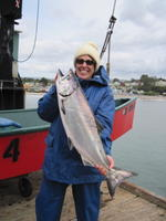 Carol frist salmon of the year.